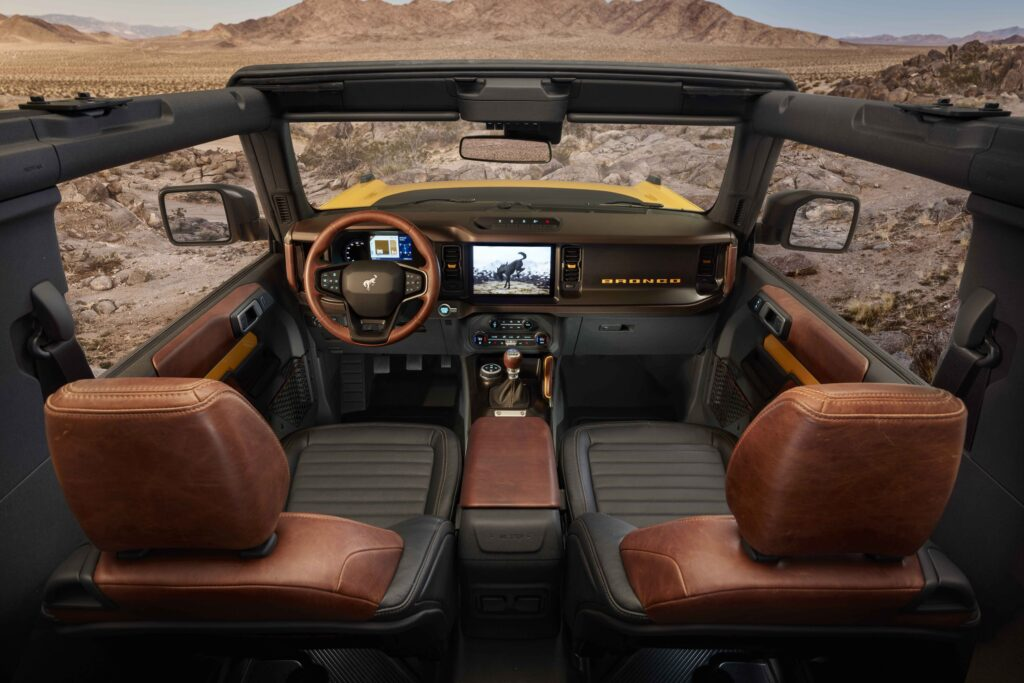 Interior Bronco 2 puertas