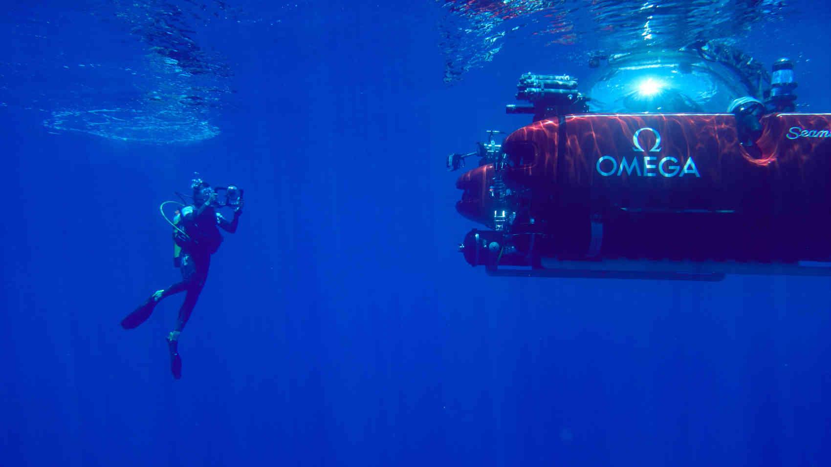 Omega Seamaster Driver 300M edición Nekton