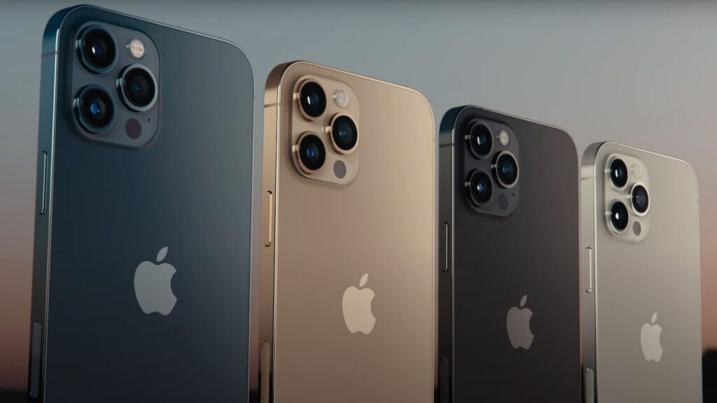 modelos iPhone 12