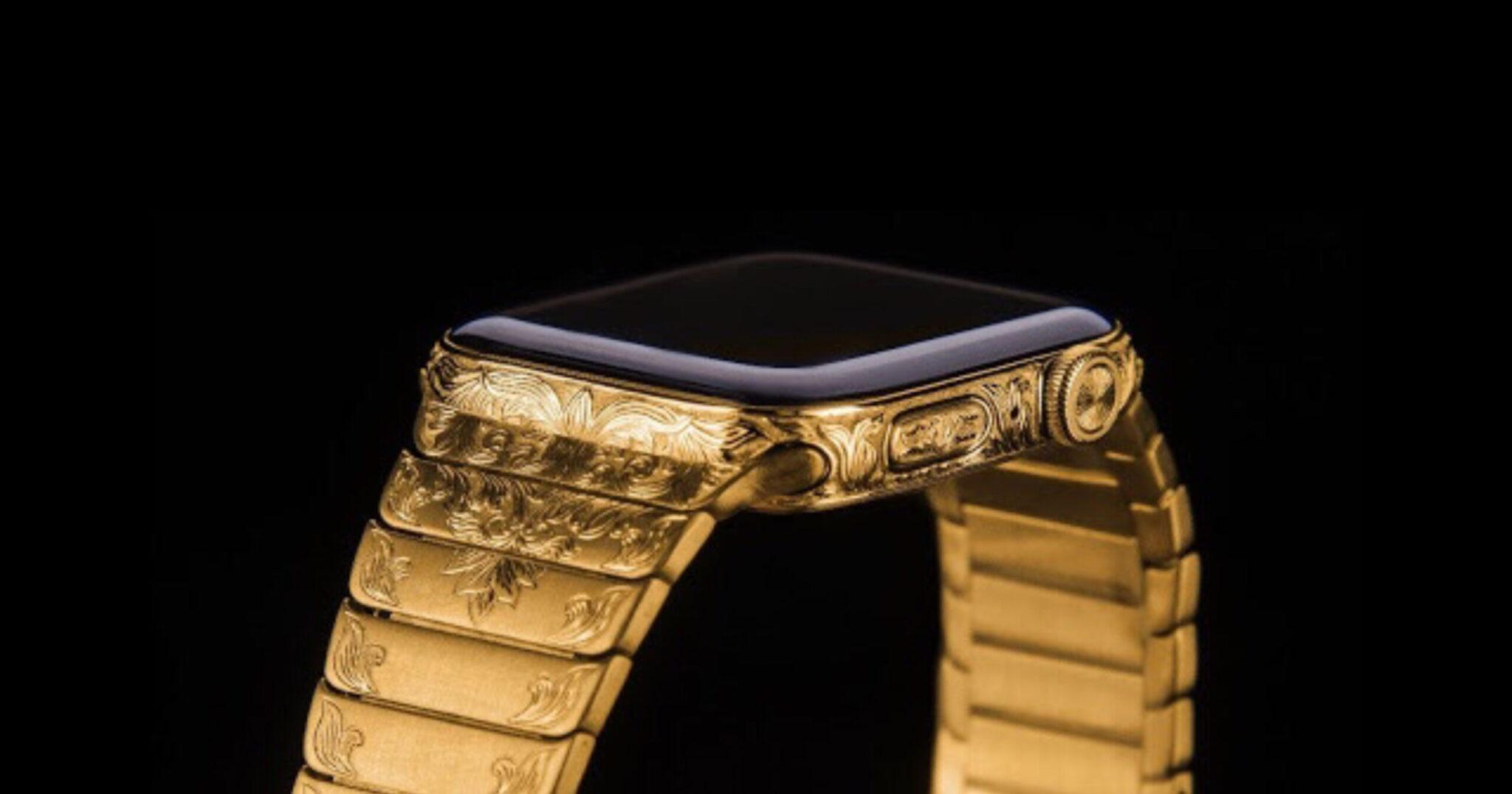 Apple Watch Series 6 de 24 quilates