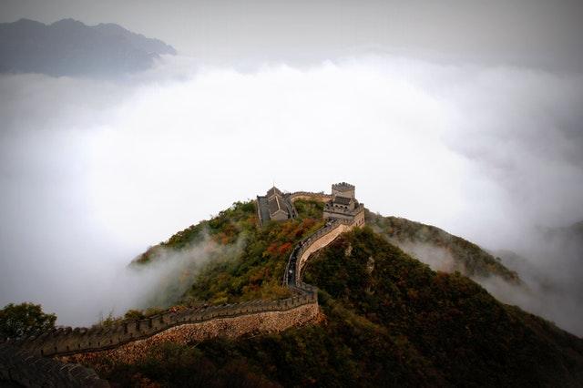 países más visitados China