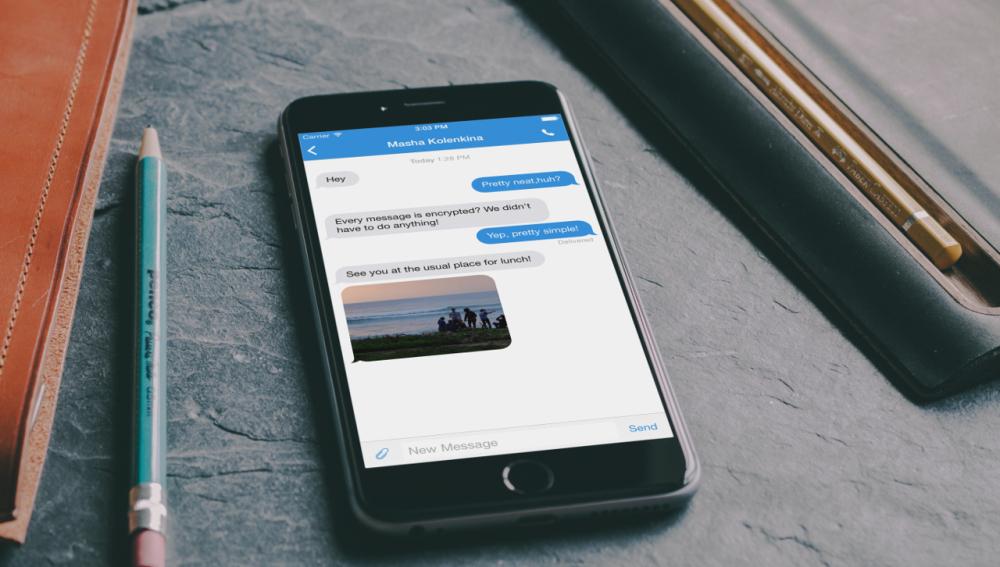 Signal, mensajería instantánea