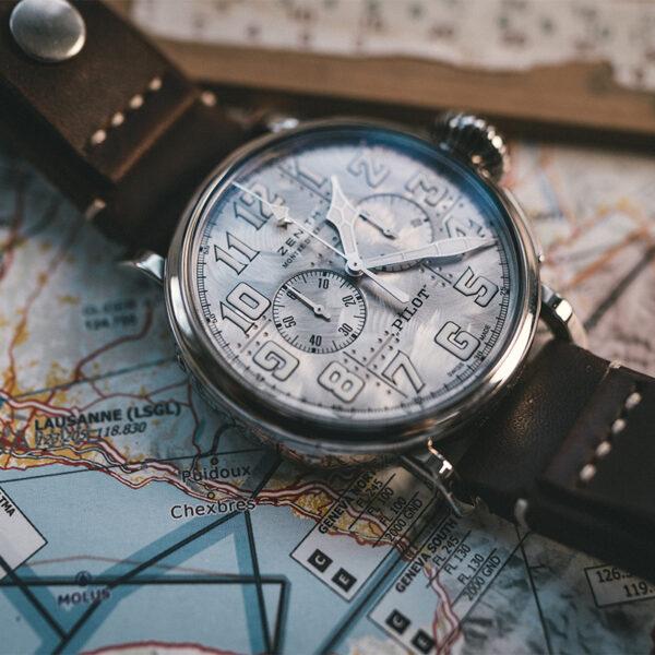 Zenith Pilot Silver Chronograph